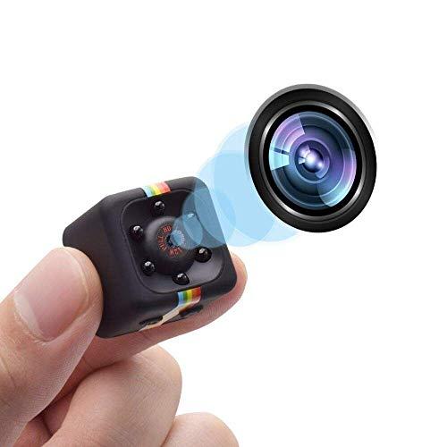 Mini Spy Cam 1080 HD La Telecamera Videosorveglianza Più Compatta Dotata Di Rilevatore Di Movimento...