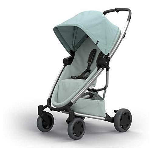 Quinny Zapp Flex Plus, Passeggino Leggero e Compatto, reversibile fronte strada e fronte mamma, reclinabile, 4 ruote grandi, colore Frost on Grey