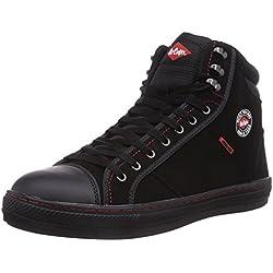 Lee Cooper Workwear Sb Boot, Chaussures de sécurité Adulte Mixte - Noir (black), 42 EU