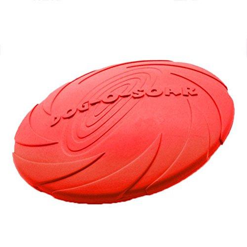 UEETEK Mascotas de seguridad suave juguete Discos Voladores volar discos juguetes agua Bowl para perros mascotas