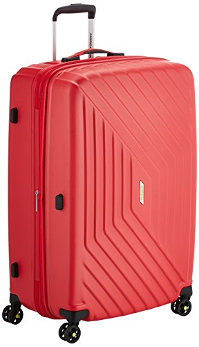 American Tourister - Air Force 1 Spinner 76/29 Espandibile 96.5/111L - 4.1 KG, Rojo (Flame Red)