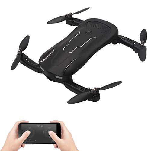RC Drone, n. 1 Drone Pieghevole con 720 HD WiFi Camera Live Video FPV 2.4GHz 6-Axis Gyro Remote Control Quadcopter Altitude Hold modalità Headless