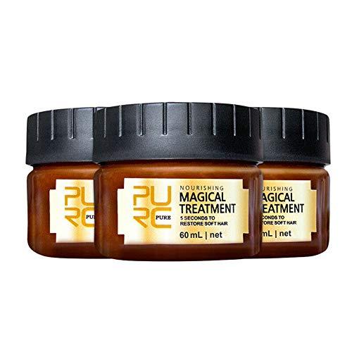 Magical Deep Repair Haarmaske Nutrition Conditioner 5 Sekunden Reparaturen Schaden Wiederherstellung Weiches Haar 3PCS