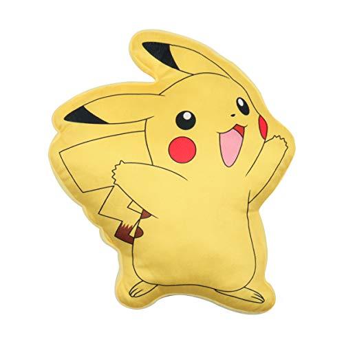Pokèmon Pikachu Cojín Almohada | Producto Oficial Clásico Amarillo Pikachu