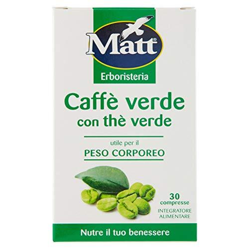 Matt&Diet Caffè Verde con Thè Verde 1100 - 30 gr