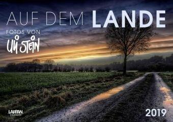 Auf dem Lande - Uli Stein - Kalender 2019 - Lappan-Verlag - Wandkalender mit norddeutschen Landschaften - 59,4 cm x 42 cm