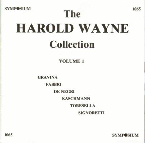 Harold Wayne Collection Vol. 1 by De Negri (1994-09-01)