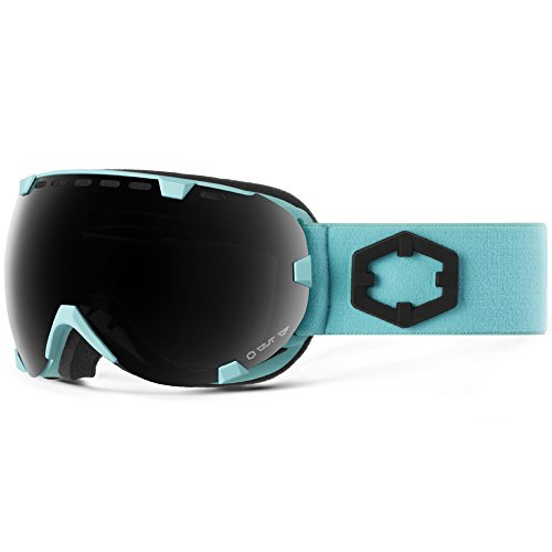 Out Of Maschera da Snowboard Eyes Turquoise Smoke