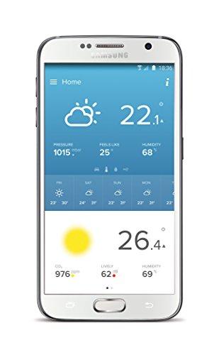 410CVoN%2BL%2BL [Bon Plan Netatmo] Netatmo Station Météo Intérieur Extérieur Connectée Wifi pour Smartphone, Capteur Sans fil, Thermomètre, Hygromètre, Baromètre, Sonomètre, Qualité de l'air - Compatible avec Amazon Alexa, NWS01-EC