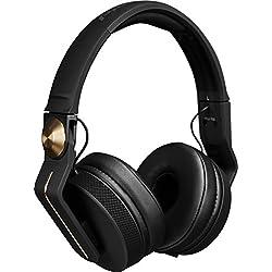 Pioneer HDJ-700 Negro, Oro Circumaural Diadema Auricular - Auriculares (Circumaural, Diadema, Alámbrico, 5-28000 Hz, 1,2 m, Negro, Oro)