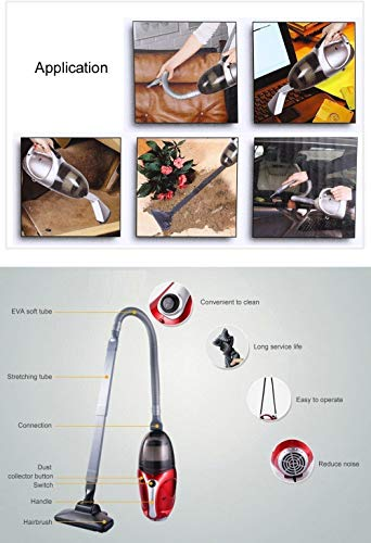 MW Mall India New Vacuum Cleaner Blowing and Sucking Dual Purpose (Jk-8), 220-240 V, 50 Hz, 1000 WATTS, Red 3