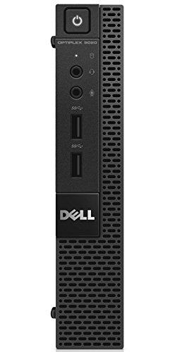 Dell PC Optiplex 9020M Desktop-PC (Intel Core i5 4590T, 2GHz, 8GB RAM, 500GB HDD, Intel HD Graphics 4600, DVD, Win 7 Pro) schwarz