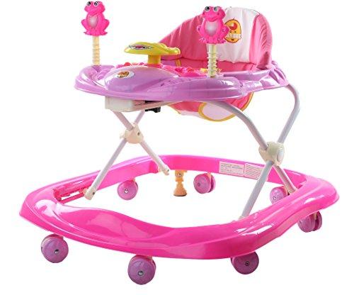 Baybee Smartwitty Stylish Baby Walker (Pink)