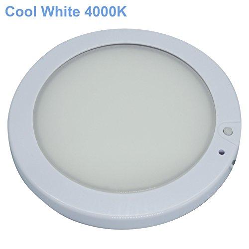 Facon 12.7cm 12V LED RV pannello a soffitto a cupola lampada con interruttore per RV Motorhome...