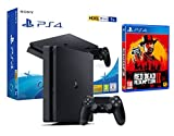 PS4 Slim 1TB schwarz Playstation 4 Konsole + Red Dead Redemption 2