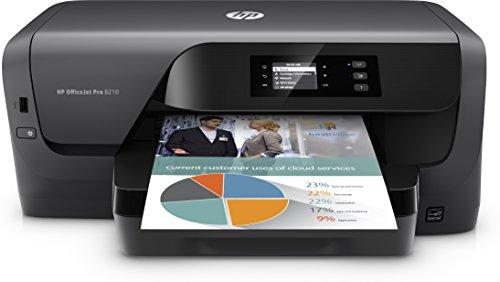 HP OfficeJet Pro 8210 Tintenstrahldrucker (Drucker, LAN, WLAN, Duplex, HP Instant Ink, Airprint) schwarz