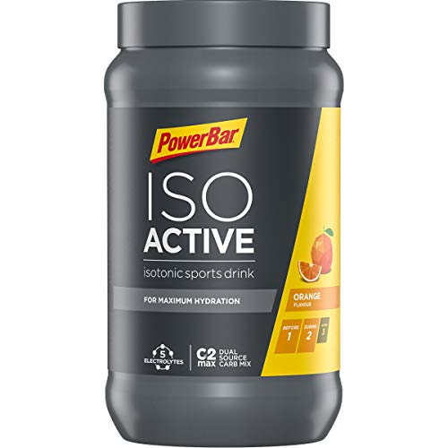 Powerbar Isoactive Suplemento, Sabor Orange - 600 gr