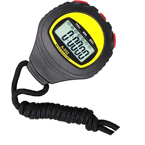 Uzinb Ampio Display elettronico cronometro Professionale Esecuzione Timer Sport Arbitro Coach Chronograph
