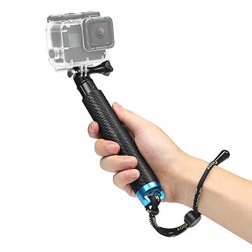 SHOOT 19' Bastone Selfie Telescopico Monopiede Pole per GoPro Hero 6/5/4/3+/3/HERO(2018)/Fusion DBPOWER Apeman Campark WiMiUS YI CAMKONG e Altre Fotocamere Accessori