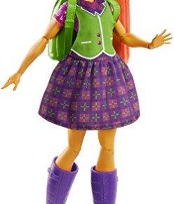 DC Superhero Girls- Muñeca superheroína Starfire transformación, Multicolor (Mattel FRF89)
