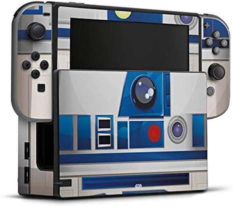 DeinDesign Skin Aufkleber Sticker Folie für Nintendo Switch Star Wars Merchandise Fanartikel R2d2