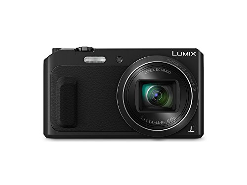 Panasonic Lumix DMC-TZ57EG-K Fotocamera, Sensore MOS 16 MP, Zoom Ottico 20x, Video Full HD, Wink...