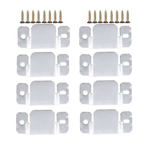 ounona 8Universal Sektionaltor Sofa Interlocking Möbel Anschluss mit 16Schrauben