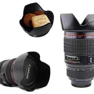 Camera Lens Plastic Coffee Mug with Lid, 350ml, Black 27  Camera Lens Plastic Coffee Mug with Lid, 350ml, Black 410u1K0Ao8L