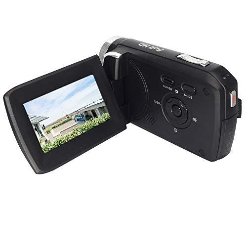 GDV5250 Videocamera digitale 1080P Full HD Videocamera DV con batteria ricaricabile/Schermo LCD TFT da 2,7' / Rotazione di 270 gradi per bambini/principianti/anziani Regalo di Natale