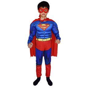 Niños Cosplay Ropa De Superman Modelos Musculares Medias De Cosplay Ropa Navidad Halloween Disfraces para Niños L