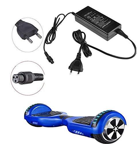 DOBO Carica batterie Overboard Caricatore Universale Alimentatore 42V 2A per Skateboard Hoverboard...