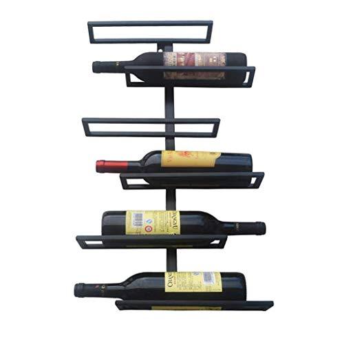 ZXL Portabottiglie Portabottiglie a Parete Cantinetta da Vino Creativa Appendiabiti da Parete...
