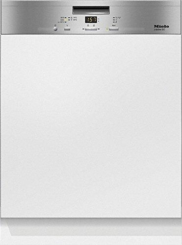 Miele Lavastoviglie da incasso con frontalino a vista G 4930 SCi CLST finitura acciaio inox...