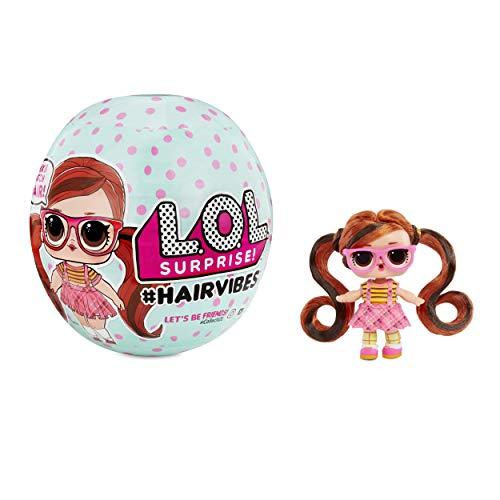 L.O.L. Surprise! 564751E7C - Bambole Hairvibes con 15 sorprese e Mix & Match per Capelli, Multicolore
