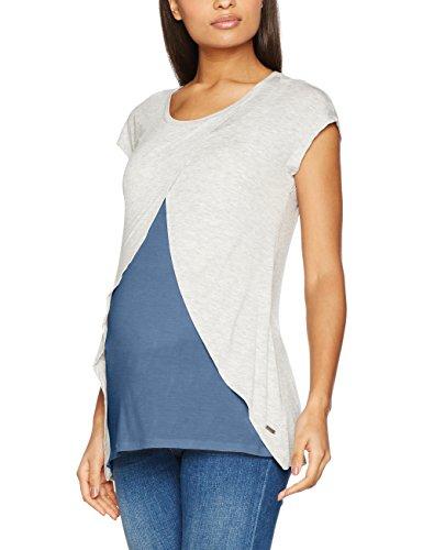 bellybutton Damen Umstands-T-Shirt Stillshirt 1/4 Arm
