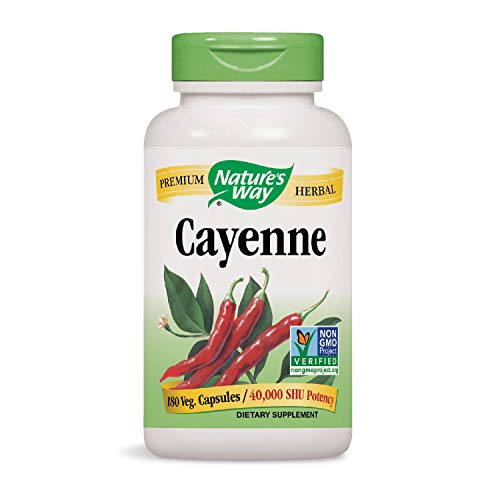 Nature\'s Way - Cayenne, 450 mg, 180 capsules by Nature\'s Way