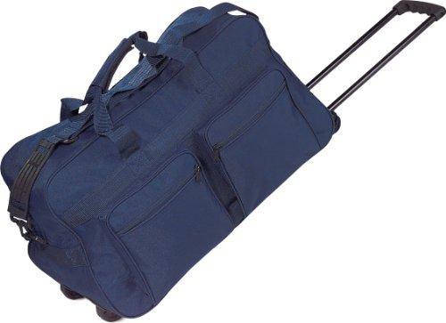 Borsa borsone trolley da viaggio con ampie tasche e tracolla