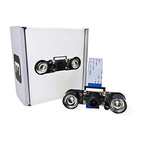Electric treeks Raspberry Pi Modulo fotocamera Full HD con LED a infrarossi