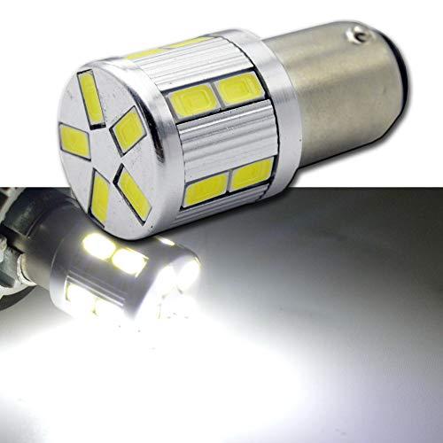 Ruiandsion BA15D auto luci LED AC 6V 563017SMD bianco LED auto Back up Reverse luce freno fanale...