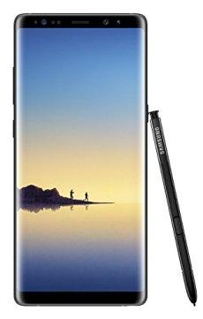 Samsung Galaxy Note8 Smartphone (6,3 Zoll (16,05 cm) Touch-Display, 64GB interner Speicher, Android 7.1) Midnight Black