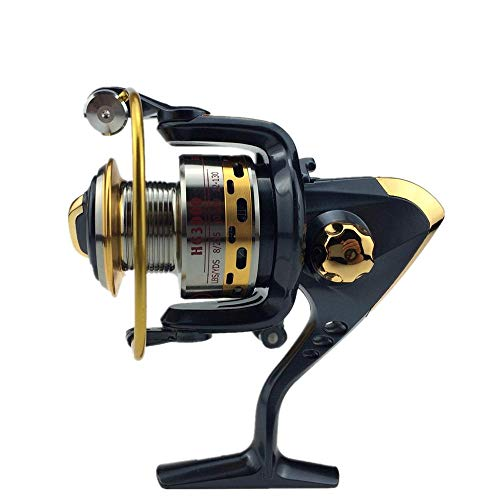 ZKDY Mulinello da Pesca in Metallo con Mulinello A 7 Cuscinetti@Cuscinetto 3000