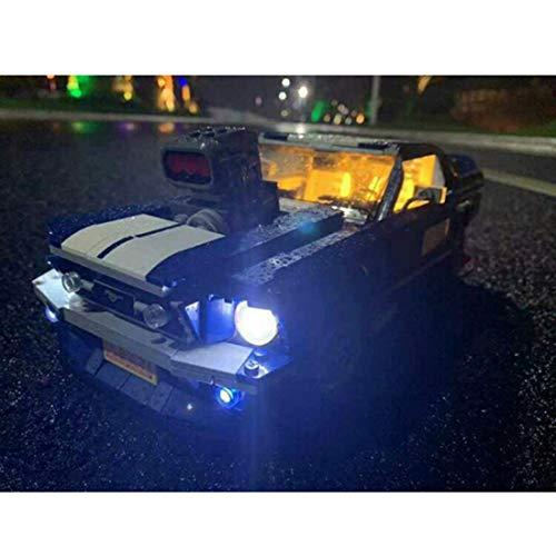 POXL Set di Luci per ( Ford Mustang ) Modello - Kit Luce LED Compatibile con Lego 10265 ( Lego Set...