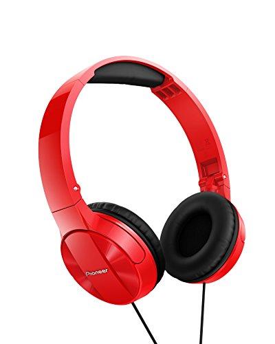 Pioneer SE-MJ503-R - Auriculares, Rojo