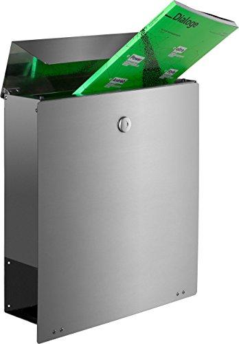 Frabox NAMUR Edelstahl Design Briefkasten - 5