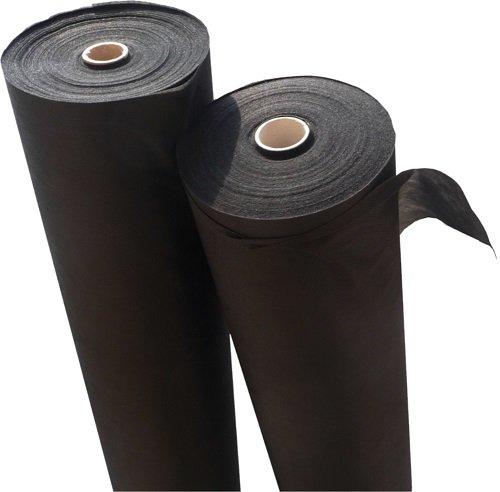 Tessuto Diserbante per Giardino in Tessuto Non Tessuto per pacciamatura in qualità Professionale, Elevata Resistenza ai Raggi UV e 30m x 1,6m = 48m², 150G/M²