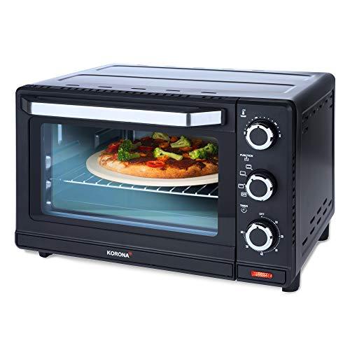 Korona 57156 - Tostapane multifunzione, in acciaio INOX, 24 l, piccolo forno per pizza, compatto,...