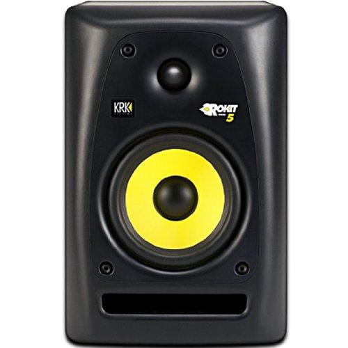 KRK ROKIT 5 G2 SE 45W Color blanco, Amarillo altavoz - Altavoces (De 2 vías, Alámbrico, RCA, 45 W, 52-20000 Hz, Blanco, Amarillo)