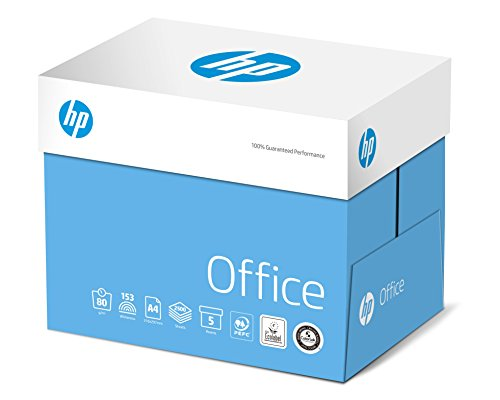 Hewlett-Packard CHP 110 Office Kopierpapier 80 g DIN-A4, 210 x 297 mm, weiß, matt 5 Pack = 1 Karton