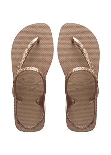 Havaianas Flash Urban, Sandali Donna, Oro (Rose Gold 3581), 39/40 EU ( 37/38 BR)