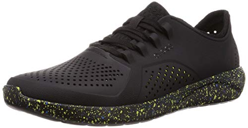 crocs Men's Black Sneakers-7 UK (M8) (205814-060)